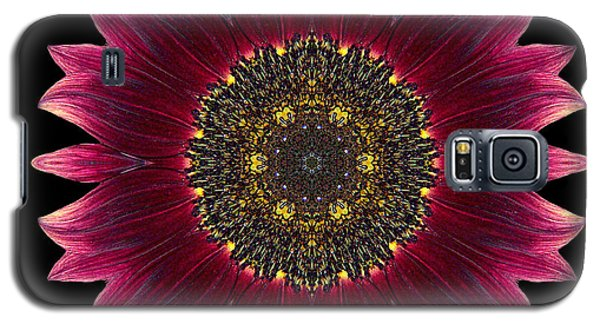 Sunflower Moulin Rouge I Flower Mandala Galaxy S5 Case