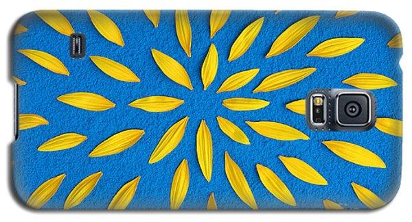 Sunflower Petals Pattern Galaxy S5 Case