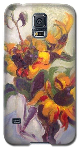 Sunflower Pirouette Galaxy S5 Case
