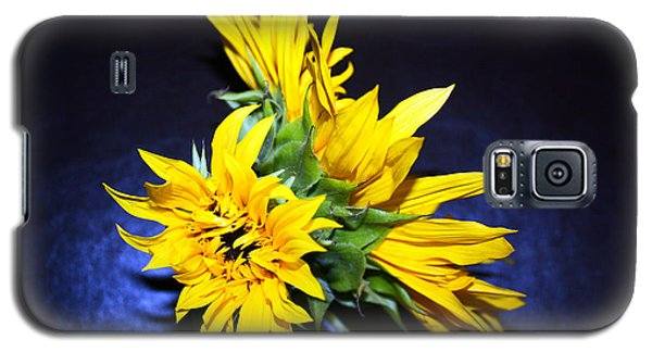 Sunflower Portrait Galaxy S5 Case