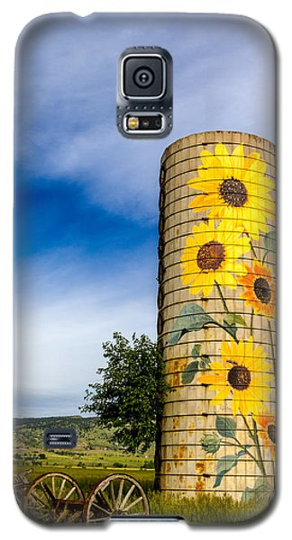 Sunflower Silo Galaxy S5 Case by Teri Virbickis