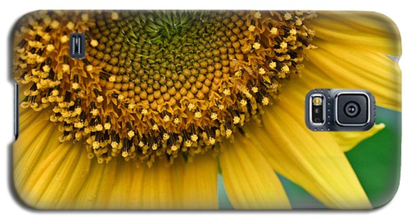 Sunflower Smiles Galaxy S5 Case by Julie Andel