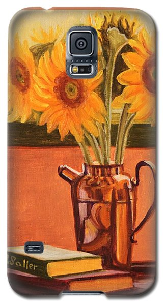 Sunflower Still Life Galaxy S5 Case
