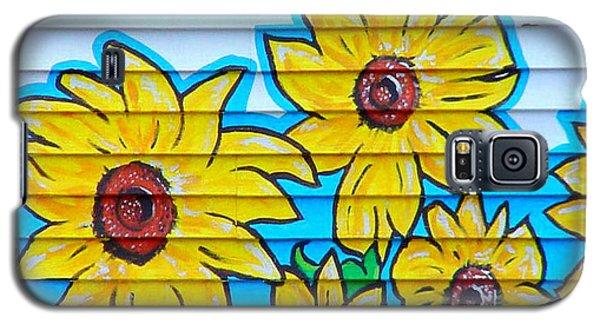 Sunflower Street Art Saint Johns Nfld Galaxy S5 Case