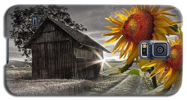 Sunflower Watch Galaxy S5 Case