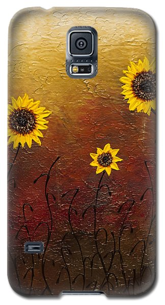 Sunflowers 2 Galaxy S5 Case by Carmen Guedez