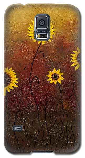 Sunflowers 3 Galaxy S5 Case by Carmen Guedez