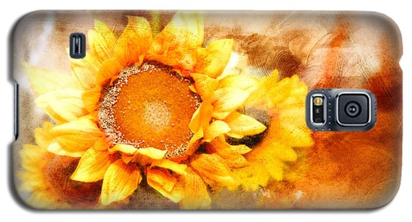 Sunflowers Aglow Galaxy S5 Case