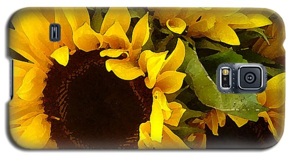 Sunflowers Galaxy S5 Case by Amy Vangsgard