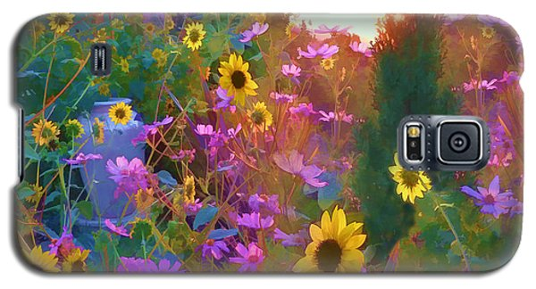 Sunflowers And Cosmos Galaxy S5 Case