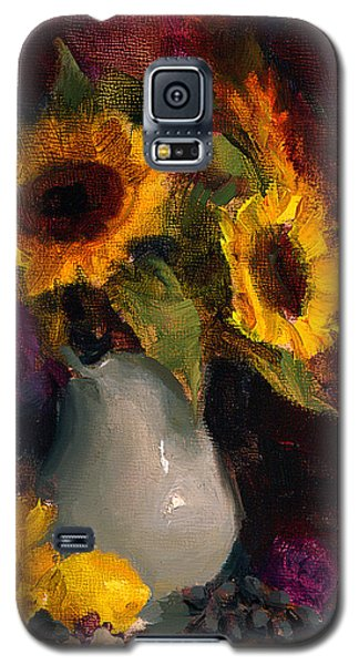 Sunflowers And Porcelain Still Life Galaxy S5 Case
