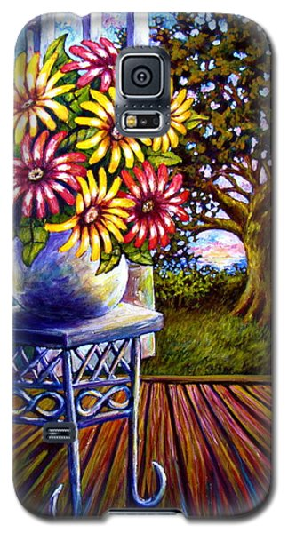 Sunflowers And The Oak Tree Galaxy S5 Case