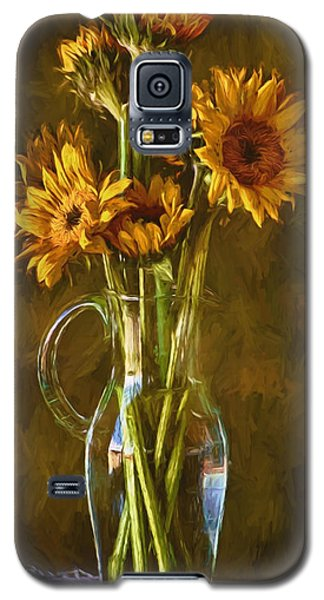 Sunflowers And Vase Galaxy S5 Case