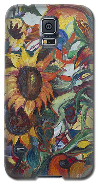 Sunflowers Galaxy S5 Case by Avonelle Kelsey
