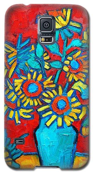 Sunflowers Bouquet Galaxy S5 Case