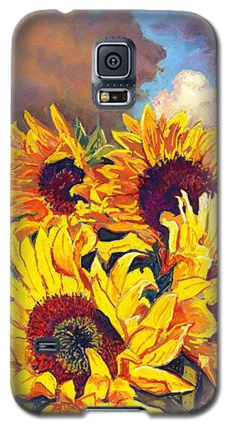 Sunflowers Galaxy S5 Case by David Randall