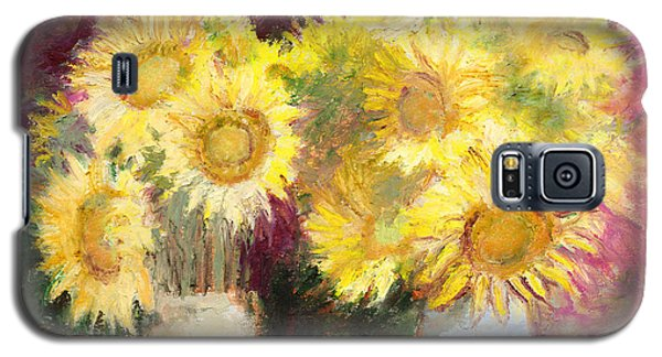 Sunflowers In Jars Galaxy S5 Case