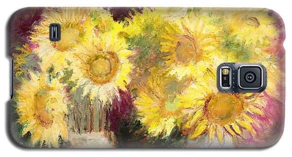 Sunflowers In Jars Galaxy S5 Case