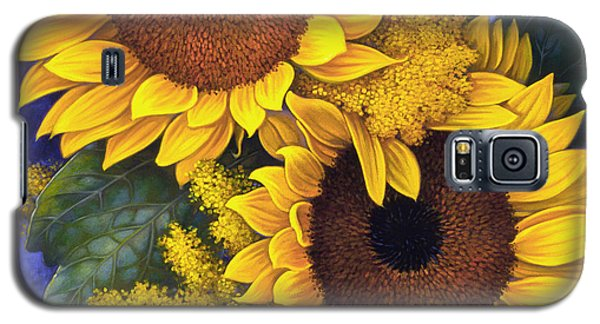 Sunflowers Galaxy S5 Case by Mia Tavonatti