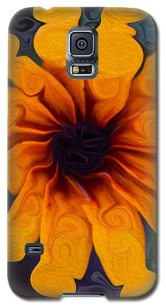 Sunflowers On Psychadelics Galaxy S5 Case