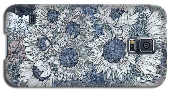 Sunflowers Paris Galaxy S5 Case by Jack Torcello
