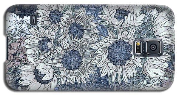 Sunflowers Paris Galaxy S5 Case