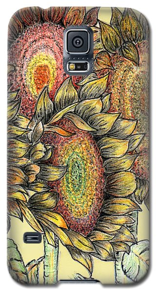 Sunflowers Revisited Galaxy S5 Case