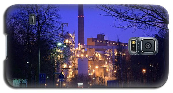 Sunila Pulp Mill By Rainy Night Galaxy S5 Case