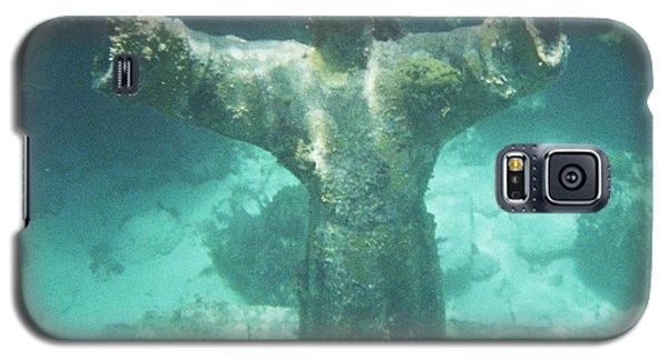 Galaxy S5 Case featuring the photograph Sunken Savior by Robert ONeil