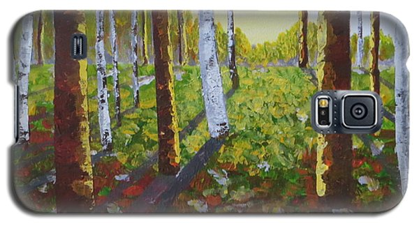 Sunlit Forest  Galaxy S5 Case