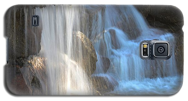 Sunlight On The Falls Galaxy S5 Case by Deb Halloran