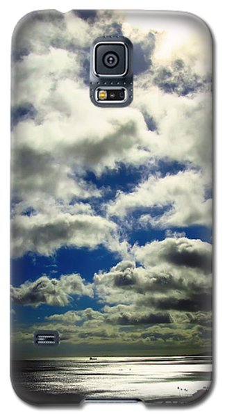 Galaxy S5 Case featuring the photograph Sunlight Through The Clouds by Kara  Stewart