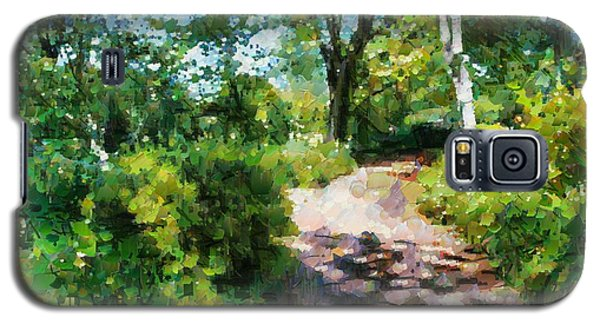 Sunlit Garden Path Galaxy S5 Case