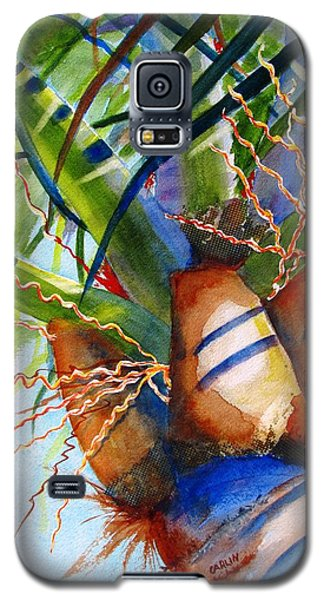 Sunlit Palm Galaxy S5 Case by Carlin Blahnik