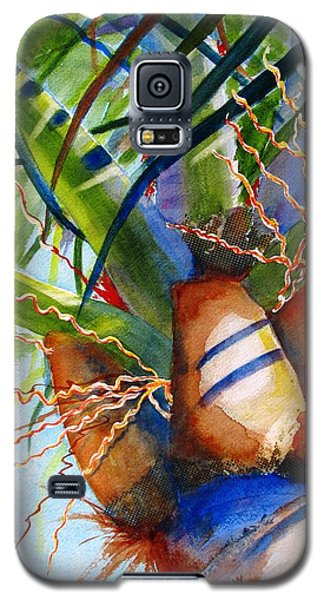 Sunlit Palm Galaxy S5 Case