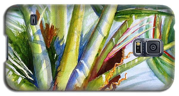 Sunlit Palm Fronds Galaxy S5 Case