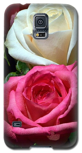 Sunlit Roses Galaxy S5 Case by Marie Hicks