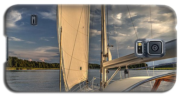 Sunny Afternoon Inland Sailing In Poland Galaxy S5 Case