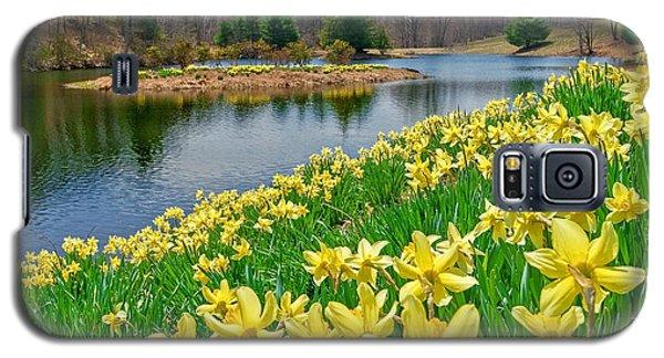 Sunny Daffodil Galaxy S5 Case
