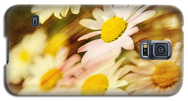 Galaxy S5 Case featuring the photograph Sunny Daisies by Mary Timman
