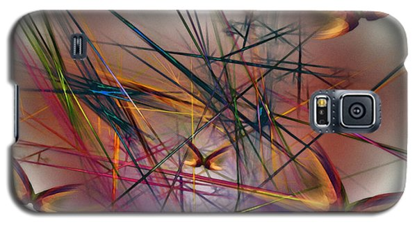 Sunny Day-abstract Art Galaxy S5 Case