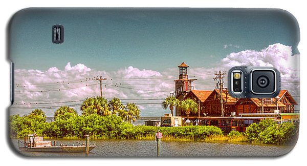 Sunny Day At Cedar Key Galaxy S5 Case by Lewis Mann