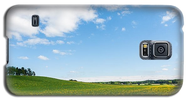 Sunny Day At The Fields Of Gold Galaxy S5 Case