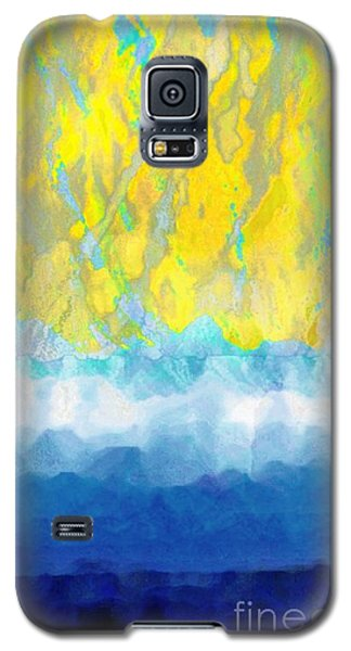 Galaxy S5 Case featuring the digital art Sunny Day Waters by Darla Wood