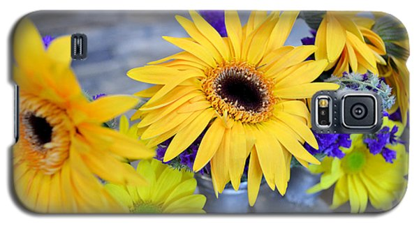 Galaxy S5 Case featuring the photograph Sunny Days by Ally  White