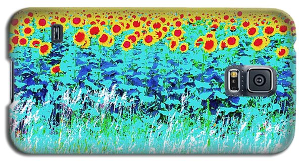 Galaxy S5 Case featuring the photograph Sunny Kansas by Ann Johndro-Collins