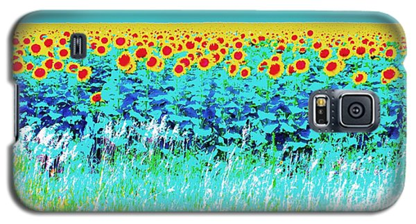 Sunny Kansas Galaxy S5 Case by Ann Johndro-Collins