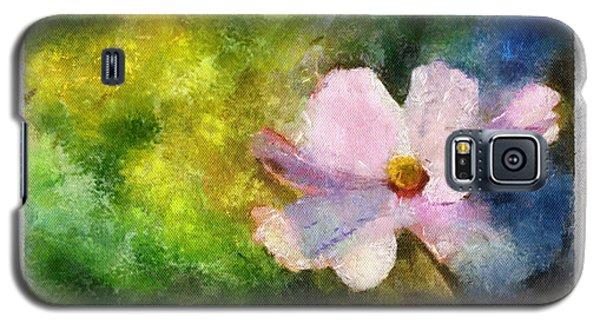 Sunny Pink Cosmos Galaxy S5 Case