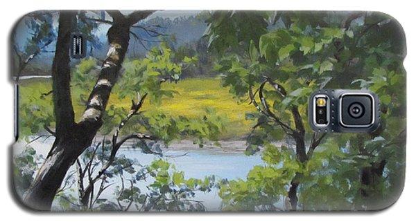 Sunny River Galaxy S5 Case by Karen Ilari