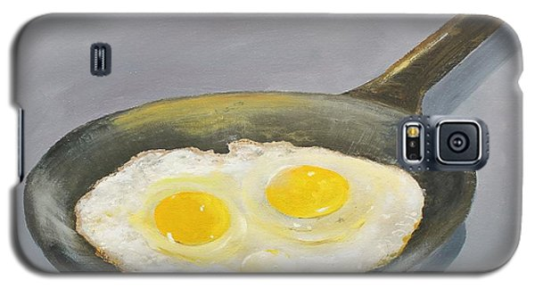 Galaxy S5 Case featuring the painting Sunny Side by Ken Ahlering